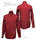 "SUGAR CANE(シュガーケーン) FICTION ROMANCE ""8.5oz. RED WABASH WORK SHIRT"""