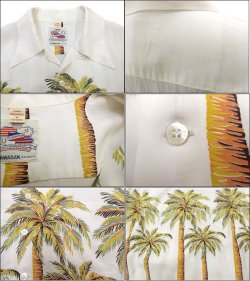 """画像2: Sun Surf Special Edition (サンサーフスペシャルエディション) Hawaiian Shirt(アロハシャツ) DUKE KAHANAMOKU ショートスリーブ """"PALM TREE"""""""