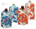 "Sun Surf(サンサーフ) Long sleeve Hawaiian Shirt(長袖アロハ) ""DRAGON"" SS28554-21SS"