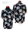 "Sun Surf(サンサーフ) Hawaiian Shirt(アロハ) ショートスリーブ ""KABUKI MAKE UP"""