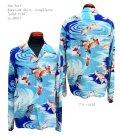 """Sun Surf(サンサーフ) Hawaiian Shirt(アロハ) ロングスリーブ """"GOLD FISH"""""""