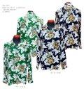 "Sun Surf(サンサーフ) Hawaiian Shirt(アロハ) ロングスリーブ ""UKULELE MELODY"""