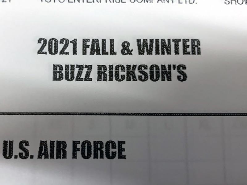 Buzz Rickson'S 2021